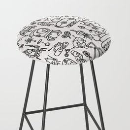 Retrofuturismo Bar Stool