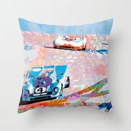 Rennsport Reunion 2011 Throw Pillow