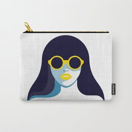 Woman in Sunglasses Carry-All Pouch
