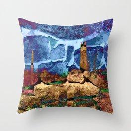 Desert Impressions 2 Throw Pillow