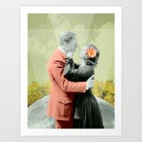 """Couple In Love 2"" Art Print"