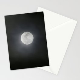 First Full Moon of 2018 Stationery Cards