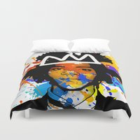 basquiat Duvet Covers featuring BASQUIAT by SebinLondon
