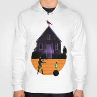 house Hoodies featuring HOUSE by MAR AMADOR