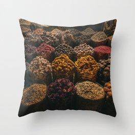 Jumeirah souk madinat Throw Pillow