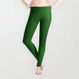 Green Inspired 401 by Kristalin Davis Leggings
