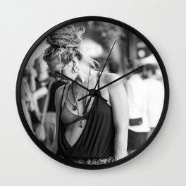 Asheville girl Wall Clock