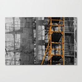 Ancient scaffold 2 Canvas Print