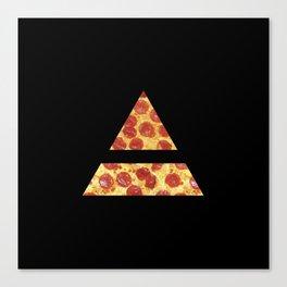 A Million Little Pizzas Ver. 2 Canvas Print