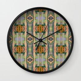 Arabian days (Paint Columns 3) Wall Clock
