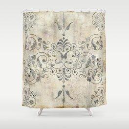 Fleurons II Shower Curtain