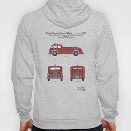 Firetruck Patent Hoody