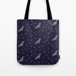 Bats Pattern Tote Bag