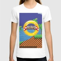 video game T-shirts featuring Retro Platform Video game poster  by Nick's Emporium