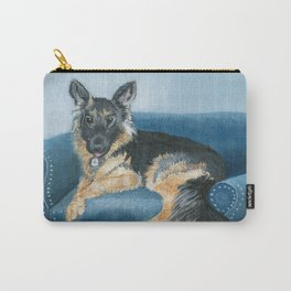 German Shepherd Angus Carry-All Pouch