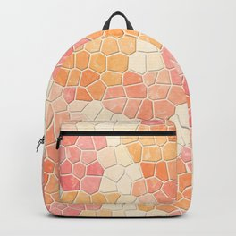 Peaches and Cream Mosaic Backpack