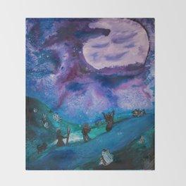 Psychic Dreams Throw Blanket