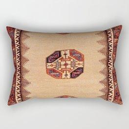 Baluch Sofreh Khorasan Northeast Persian Rug Rectangular Pillow