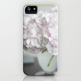 Pink, Grey and Lime iPhone Case