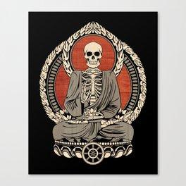 Starving Buddha Canvas Print