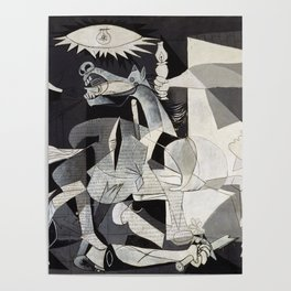 Pablo Picasso Guernica 1937 Artwork Shirt, Art Reproduction for Prints Posters Tshirts Men Women Poster