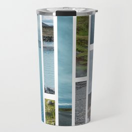 Pieces of Iceland Travel Mug