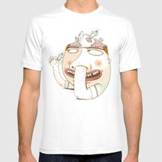 Diggin' for Diamonds Mens Fitted Tee MEDIUM White