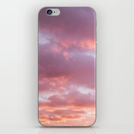 Unicorn Sunset Peach Skyscape Photography iPhone Skin