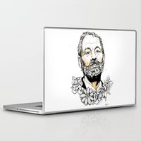 murray Laptop & iPad Skins featuring Bill F***ing Murray. by ellaclawley