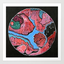World one Art Print
