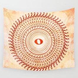 Watercolor music mandala no 2 Wall Tapestry