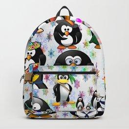 PENGUIN family for kids Backpack