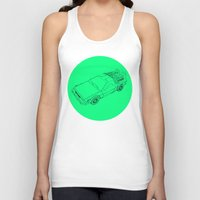 back to the future Tank Tops featuring Back To The Future by Jesse Pinkman