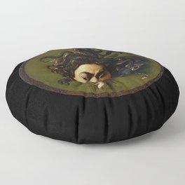 Merisi da Caravaggio - Medusa Floor Pillow
