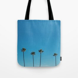Summer Palms Tote Bag