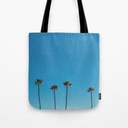Summer Palms Tote Bag