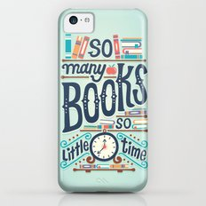 So many books so little time iPhone 5c Slim Case