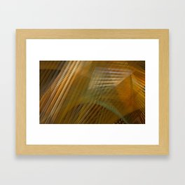Abstract Architecture Study Framed Art Print