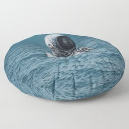 lost at sea Floor Pillow