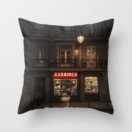 The charm of Lisbon Throw Pillow