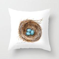 Life is Fragile by Teresa Thompson Throw Pillow