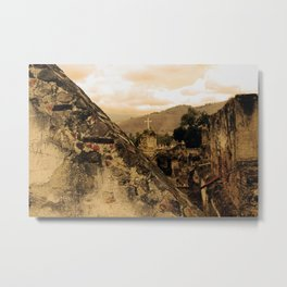 Lost Cross Metal Print
