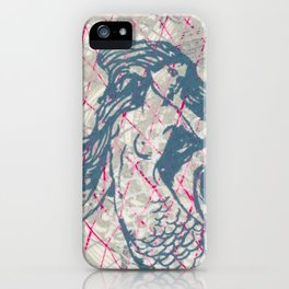 Double Mermaids iPhone Case