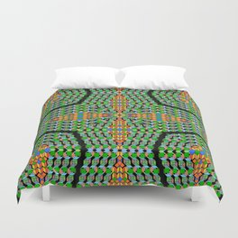 Cross Purposes, 2300c Duvet Cover