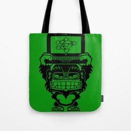 Ikari Monkey Neural Network Trainer Tote Bag