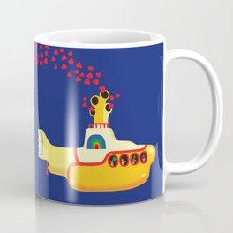 Yellow Submarine Bubbling Love Coffee Mug