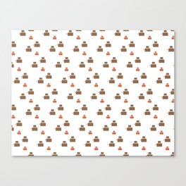 TOASTER PATTERN Canvas Print