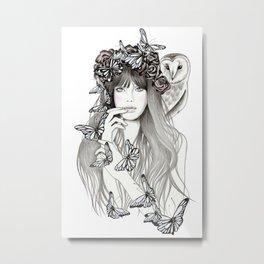 Silent Metal Print