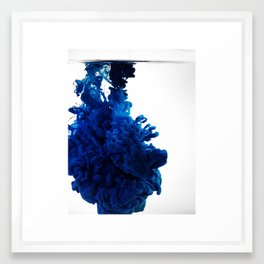 Ink Cloud Framed Art Print