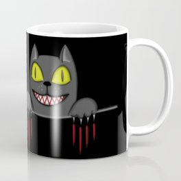 Creepy Pocket Cat Coffee Mug